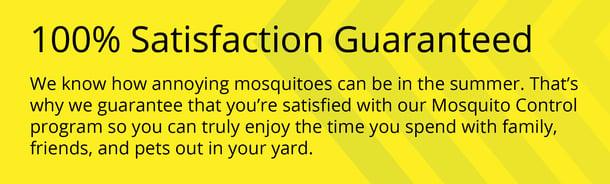 100satisfaction guarantee call-out