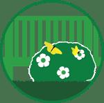 flowered bush icon