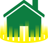home barrier icon green